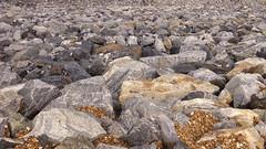 Making a Dam (jasonol0gy) Tags: rocks dam boulders wa photoshopedited iphone5