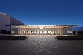 Apple Standford 2, Palo Alto - New Store Design. Foto: Courtesy of Wall St Cheat Sheet.