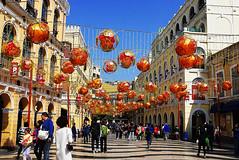 Macau | Lunar New Year 2014 | Senado Square (travel oriented) Tags: chinesenewyear macau lunarnewyear  senadosquare
