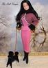 Vintage Snowprincess Superstar in Fashion Avenue (The doll keeper) Tags: pink black barbie poodle frenchpoodle fashionavenue furtrimmed snowprincess ravenhair superstarbarbie