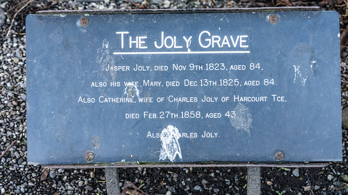 St. Kevin's Church And Churchyard - The Joly Grave