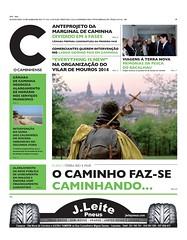 capa jornal c o caminhense 21 mar 2014