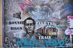 DSC_6261 Shoreditch Street Art London - Ronnie Biggs Take the Train (photographer695) Tags: street london art train shoreditch take ronnie biggs