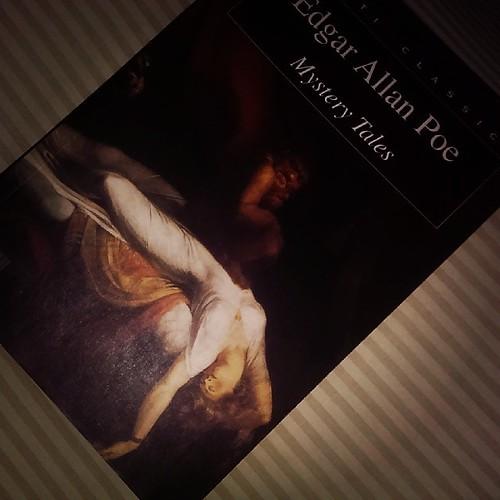 قراءة اليوم.. قصص ادغار آلان بو القصيرة Tonight's reading.. Edgar Allan Poe's short stories/ mystery tales  @muakadeenbooks  @q8bookstore  #مكتبة_المعقدين