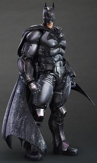 PLAY ARTS改『蝙蝠俠:阿卡漢起源』蝙蝠俠
