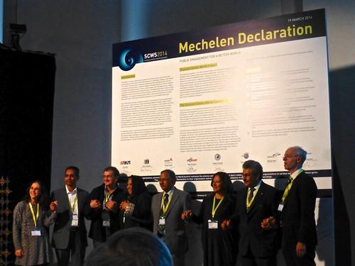 Firma de Declaración de Malinas