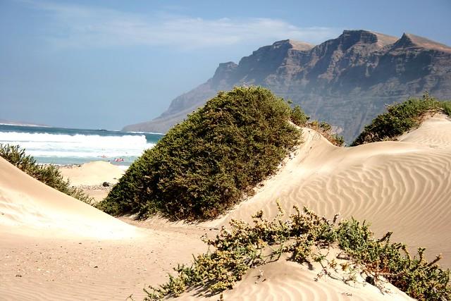 ... Perfect spot for yoga after surf...Famara dunes ... 9c1600d843e