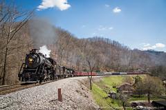 Southern 630 (Scriptunas Images) Tags: railroad train virginia kentucky steam devon westvirginia woodman norfolksouthern grundy tennesseevalleyrailroadmuseum southern630 trcountymountaineer