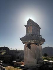 Xantos (VillaRhapsody) Tags: light sun rome backlight ancient sarcophagus historical lycian preroman xantos