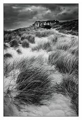 De Haan/Belgique (Punkrocker*) Tags: travel bw beach digital landscape fuji belgique x nb paysage belgica plage flandre vlaam lr5 x100s