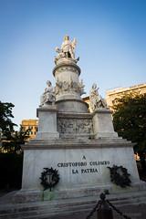 Cristoforo Colombo (pghizzi) Tags: italy statue europa italia liguria sunny genoa genova colombo cristoforo