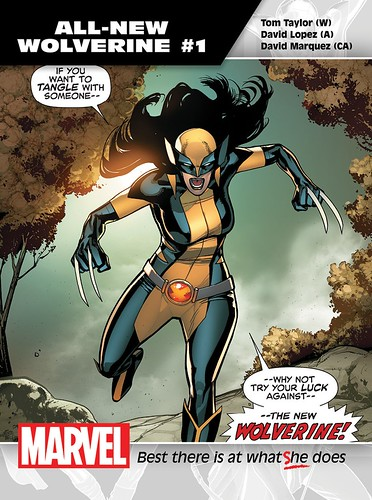 "All-New_Wolverine_1_Promo • <a style=""font-size:0.8em;"" href=""http://www.flickr.com/photos/118682276@N08/18723160184/"" target=""_blank"">View on Flickr</a>"