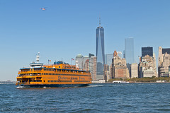 Staten Island Ferry (SamuelWalters74) Tags: newyorkcity newyork unitedstates manhattan worldtradecenter financialdistrict batteryparkcity worldfinancialcenter statenislandferry nycskyline newyorkharbor 7worldtradecenter freedomtower 1worldtradecenter 1wtc brookfieldplace oneworldtradecenter 4worldtradecenter