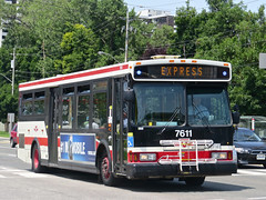 Toronto Transit Commission 7611 (YT | transport photography) Tags: toronto bus ttc 7 transit orion commission vii