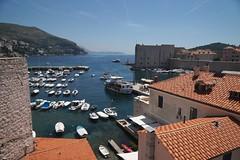 City harbour, Dubrovnik (jozioau) Tags: harbour mooring walls fortifications dubrovnik variosonnart282470