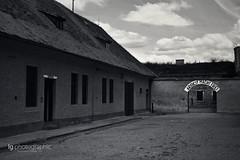 Concentration camp Terezín (lg-photographic) Tags: camp bw white black dark lost concentration konzentrationslager nikon republic place czech alt edited prag places praha tschechien tschechische republik theresienstadt kz dunkel verlassen terezín d5200
