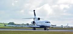 M-FALZ, Dassault Falcon 7X (aodhgn_tuohy) Tags: ireland private airplane airport aircraft cork aviation jet pad aeroplane business falcon biz runway turning dassault 7x avgeek mfalz