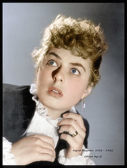 Ingrid Bergman - Gaslight - 1944 (1) (oneredsf1) Tags: ingrid bergman actress colorized coloured