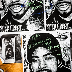 Oakland 2010 (Thomas Hawk) Tags: california usa graffiti oakland riot unitedstates unitedstatesofamerica protest eastbay riots oscargrant oaklandriots johannesmersehle oaklandca070810 oaklandriots2010