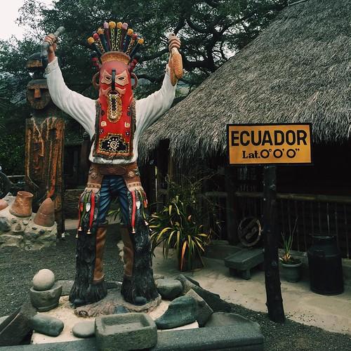 """Ecuador. 0°0'0""""."""
