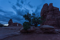 Turret Blue Hour (Ken Krach Photography) Tags: archesnationalpark turretarch