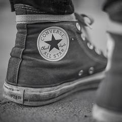 Convers (Dr. Iske) Tags: schwarzweis schuh shoe jucks blackandwhite old fashion schuhe shoes
