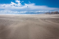 Canet en Roussillon under severe wind gust (BadGunman) Tags: shoreline desert nature landscape sea theplacetobe traval canet france wind sand