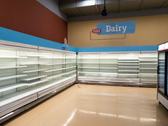 Dairy... (Nicholas Eckhart) Tags: america us usa columbus ohio oh retail stores former closed empty closing gianteagle supermarket groceries interior