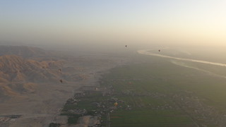 Hot Air Baloons in a Luxor Sunrise