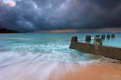 Stormy Morning at Coogee Beach (-yury-) Tags: beach pool storm overcast dramaticsky sea sand coogee sydney nsw australia