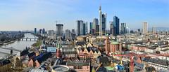 Ausblick von der Aussichtsplattfom des Dom´s in Frankfurt (cleversurf) Tags: frankfurt dom skyline ffmvonoben skylineffm vonoben