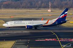 Aeroflot - B738 - VP-BGN (2) (amluhfivegolf) Tags: eddl düsseldorfairport dus flughafendüsseldorf amluh5g amluhfivegolf avgeek aviation plane