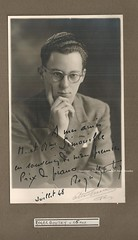 BOUTRY, Roger, 1948 (Operabilia) Tags: claudepascalperna operabilia goldenage opera autograph autographe opéradeparis opéracomique roberboutry pianist composer conductor