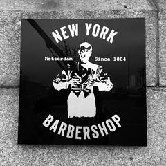 Barber Shop New York Rotterdam (Un tocco di zenzero) Tags: rotterdam rooterdamfoodieguide myrotterdam visitholland visitrotterdam