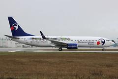 Boeing 737-8CX(WL) Travel Service  OK-TVO (herpeux_nicolas) Tags: boeing 7378cxwl b737800 b738 winglets winglet travelservice qs tvs skytravel oktvo n1786b cn32360 msn32360 cfmi cfm567b26 moraviansilesianregionlivery specialscheme specialcolors takeoff décollage nte lfrs nantesatlantique nextgen runwaywet specialcs