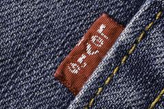 Levi's (SLX_Image) Tags: macro macromondays clothtextile jeans levis trousers cloth textile blue 7dwf