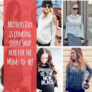 Mothers Day is coming soon! Shop for your Mom-to-Be here!Shop at my Online Store for Mother's Day! Great gifts for the expecting Mom! If she's out of town get it mailed directly to her! Click below & start shopping! http://squareup.com/store/birthbabyandb