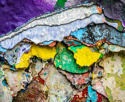 Layers of paint