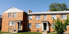 17435-17529 Manderson Road: Colonial Revivval Townhouse Apartments--Detroit MI (pinehurst19475) Tags: detroit city architecture palmerpark townhouse townhouses colonialrevival mandersonroad manderson 1743517529manderson multiunithousing brick entrances lestersatovsky builder apartments building palmerparkapartmentbuildingshistoricdistrictboundaryincrease nrhpdistrict05000014 nrhp nationalregister nationalregisterofhistoricplaces michigan mihistoricsite cityofdetroithistoricdistrict
