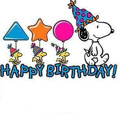 happy-birthday- to you and me (maryateresa2001) Tags: peanuts schultz happybirthday hommage auguri