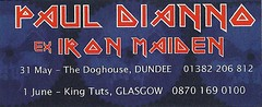 05/31/07 & 06/01/07 Paul DiAnno @ Dundee/Glasgow, Scotland (NYCDreamin) Tags: ironmaiden kingtuts dundeescotland thedoghouse 060107 glasgowscotland 053107