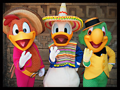 The Three Caballeros (C. Evans) Tags: mexico orlando epcot florida jose disney donald disneyworld characters waltdisneyworld donaldduck cincodemayo worldshowcase panchito disneycharacter threecaballeros josecarioca thethreecaballeros panchitopistoles disneymeetandgreet limitedtimemagic
