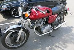 Laverda 750 SF (D70) Tags: sf show canada vancouver bc motorcycles trev laverda 750 deeley shorenswine