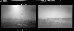 Sandstorm (joshuammulligan) Tags: storm classic film weather analog 35mm vintage landscape lomo lomography sand diptych desert wind kodak tmax palmsprings olympus xa2 sandstorm coachellavalley 100 analogue sprockets expiredfilm filmphotography sprocketholes blowingsand
