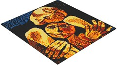 Oswaldo Guayasamin - Madre y Nio (Ternura) (rasesp) Tags: ecuador arte lego mosaic mosaico latino nio ecuatoriano madre hijo oswaldo ternura indigena guayasamin oswaldoguayasamin indigenismo indigenista