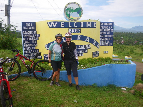 90km bike ride to Lake Caliraya