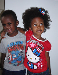Independence Day! (eg2006) Tags: kids hellokitty patriotic elisha july4th independenceday mariah captainamerica unclesam gimpedit 2013