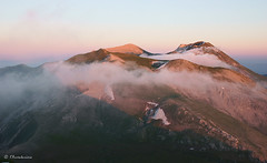 Tramonto sul Vettore (EmozionInUnClick - l'Avventuriero's photos) Tags: tramonto nuvole sibillini vettore