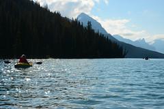 Maligne Lake (Marko Stavric) Tags: expedition rockies kayak paddle inflatable kayaking rockymountains paddling ae advancedelements