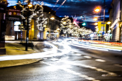 This is the Life (Firtzr) Tags: street longexposure cars canon eos autos langzeitbelichtung strase 550d